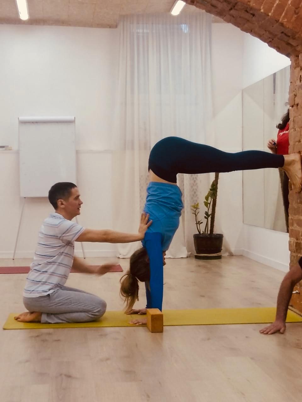 Камиль Хуснуллин курс йоги 1