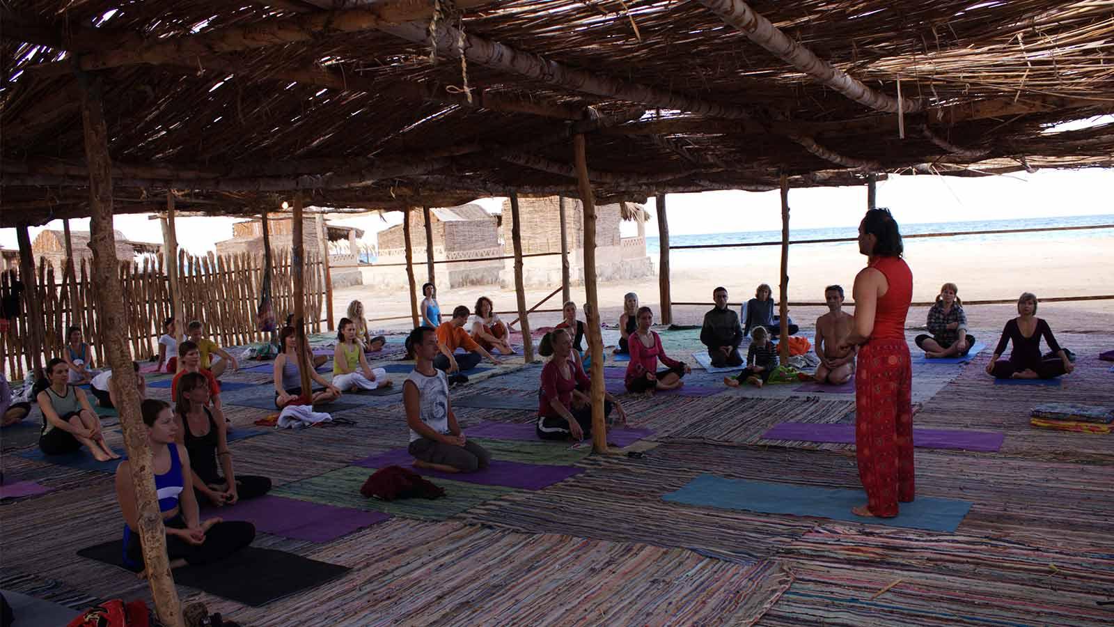 йога-тур в Египте